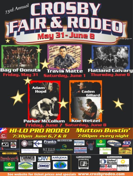 Crosby Fair and Rodeo   Crosby Fair   Crosby Rodeo   Tickets