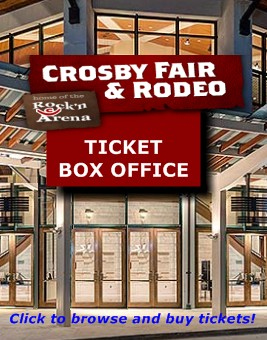 Click to browse and buy Crosby Fair and Rodeo tickets!