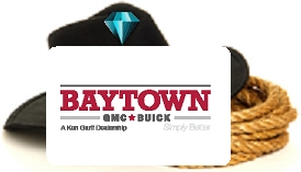 Baytown GMC is a diamond sponsor for the Crosby Fair and Rodeo!