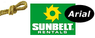 Sunbelt Arial is a gold sponsor for the Crosby Fair and Rodeo!