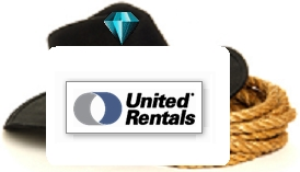 United Rentals is a diamond sponsor for the Crosby Fair and Rodeo!
